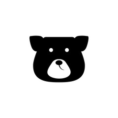face bear icon. Elements of Russian culture icon. Premium quality graphic design icon. Simple icon for websites, web design, mobile app, info graphics