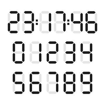 Digital number set
