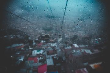 Rainy Window In La Paz