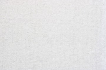 White cardboard texture or watercolor paper background.