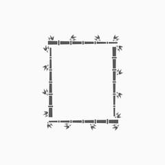 bamboo frame icon