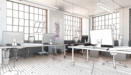 Industrial Office Area (planing)