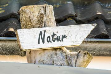 Schild 247 - Natur