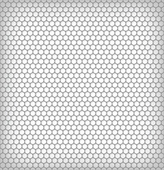 hexagon metalic texture