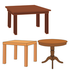 vector, isolated set of tables
