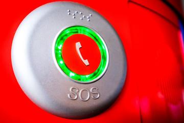 modern sos button