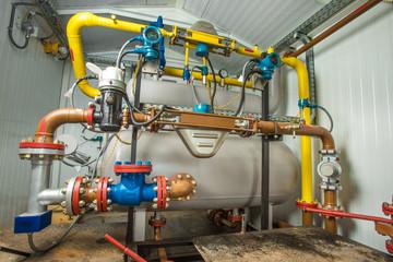 Modern crude oil control system.