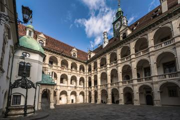 Arkadenhof des Landhaus Graz, Österreich