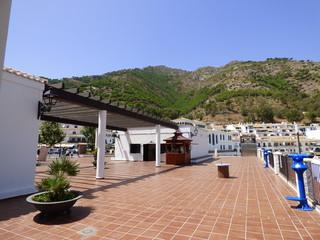 Mijas, pueblo andaluz de la provincia de Málaga (Andalucia, España) en la Costa del Sol