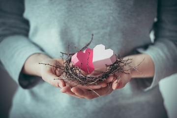 Hearts nest