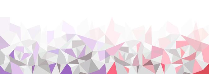 Geometrisches Muster, Hintergrundgrafik, violett-rot, Panorama