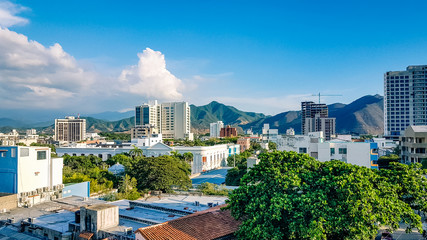 Santa Marta City Skyline
