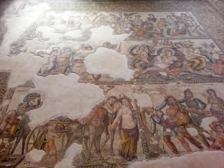 mosaic cyprus ancient paphos