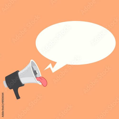 Loudspeaker megaphone bullhorn icon or symbol fun loudspeaker loudspeaker megaphone bullhorn icon or symbol fun loudspeaker with tongue ctor publicscrutiny Gallery