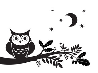 Owl decorative art