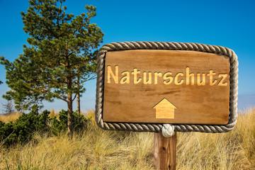 Schild 249 - Naturschutz