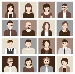 Avatars - Human Heads