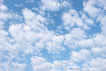 blue sky and clouds closeup for background use