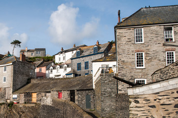 The lovely village of Port Isaac in Cornwall in south west England. UK
