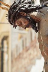 """Cristo de la Salud"" of the brotherhood of ""San Bernardo"""