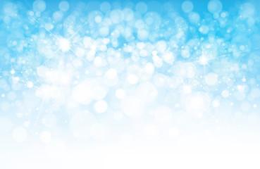 Vector blue  lights background, sky background.