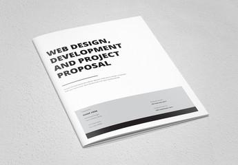 Minimalist Business Proposal Layout 1