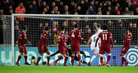 Premier League - Swansea City vs Liverpool