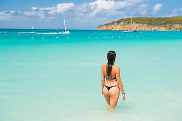 Summer vacation, holidays concept, antigua