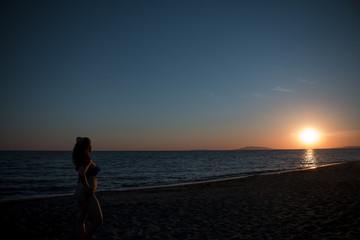 Toskana Sonnenuntergang