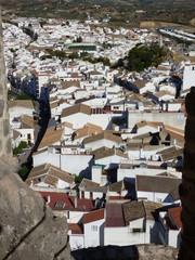 Olvera, pueblo de Cádiz, en la comunidad autónoma de Andalucía (España) incluido en la comarca de la Sierra de Cádiz, y dentro del partido judicial de Arcos de la Frontera