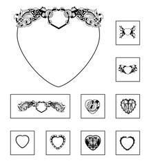 Ornaments harts 3