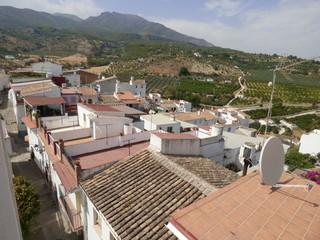 Alozaina, pueblo de Málaga, Andalucía (España) situado entre Tolox, Yunquera y Casarabonela