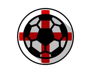 england soccer icon image vector logo