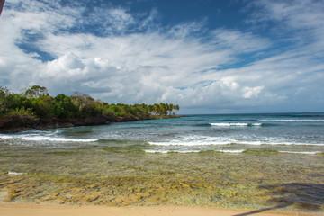 beautiful Caribbean landscape, Dominican Republic