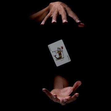 magic cards trick