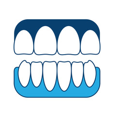 jaw with teeth icon