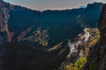 Italy Calabria mt vesuvius volcano