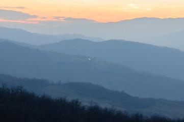 Valle fiume Parma