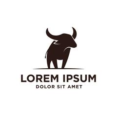 Buffalo Simple Logo Template Design