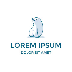 Polar Bear Mascot Character