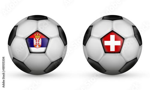 Serbien Vs Schweiz