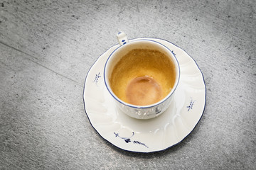 Kaffe; Kaffeetasse; Zukunft