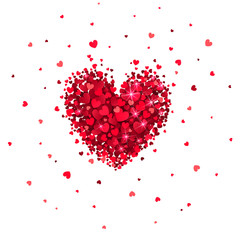 Heart of Little Red Hearts
