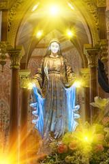 Mary mother, The Catholic Church, Chanthaburi Province, Thailand.