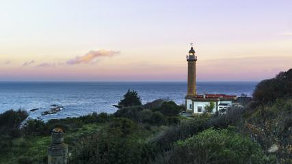 Punta Carnero Lighthouse Cadiz Spain