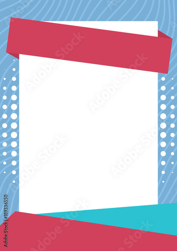 Abstract Pastel Color Blank Poster Background