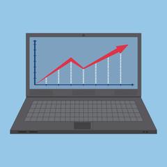 Notebook laptop, Vector Illustration EPS 10.