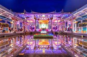 Glass Hu Sheng Temple in Changhua, Taiwan Wall mural