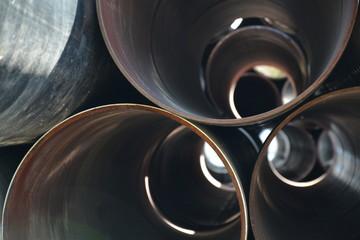 sztuka nowoczesna rury okręgi modern art tube circles