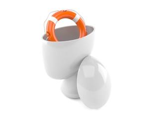 Life buoy inside head